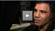 A disappointed Clay Guida fights back tears as he discusses his action-packed fight with Benson Henderson.