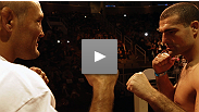 PRIDE legends Shogun Rua and Dan Henderson come face-to-face at UFC 139 weigh-ins.