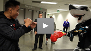 Cung Le visits the San Jose Sharks, takes out the trash, and picks up an old friend ahead of his Octagon™ debut at UFC® 139.