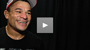"A ""really happy"" Gleison Tibau talks about his win over a tough Rafael Dos Anjos at UFC 139."