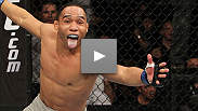 John Dodson KO's TJ Dillashaw, becoming the Season 14 Bantamweight Ultimate Fighter. Hear why he says his UFC debut is a long time coming, and when he wants to fight next.