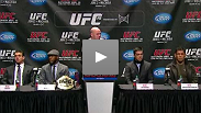 Watch the pre-fight press conference for UFC 140: Jones vs. Machida