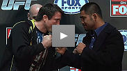 American Idol, Anderson Silva, gangsters and math teachers. No subject is taboo when Chael Sonnen and Mark Munoz answer questions at the press conference for UFC®: Evans vs. Davis.