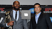 UFC 140 pre-fight press conference at Bell Tiff Lightbox Cinema1 on December 8, 2011 in Toronto, Canada.  (Photo by Josh Hedges/Zuffa LLC/Zuffa LLC via Getty Images)