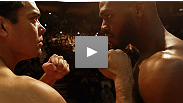 Two of the most dynamic martial artists in UFC&reg; history square off for the last time before fight night. Watch Jon Jones and Lyoto Machida weigh in for UFC&reg; 140!