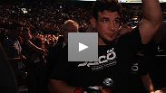 After becoming the first man to KO Minotauro Nogueira, Frank Mir exceeds expectations by becoming the first man to submit Big Nog. The former champ talks about the fight, and gives his prediction for Lesnar vs. Overeem.