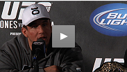 After soundly defeating Minotauro Nogueira (for the second time), Frank Mir speaks to reporters about the submission, the heavyweight division and more.