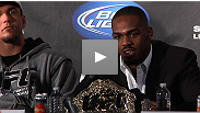 Reigning UFC light heavyweight champion Jon Jones speaks to the media about his UFC 140 war against Lyoto Machida and his plans for the future.