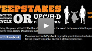Enter for a chance to win a Harley-Davidson motorcycle or UFC/H-D prize pack.