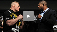 Countdown to UFC 141: Lesnar vs. Overeem  - Two very big men with very heavy hands will meet at UFC&reg; 141, as former heavyweight champ Brock Lesnar welcomes former STRIKEFORCE&reg; champ Alistair Overeem into the Octagon&trade;.