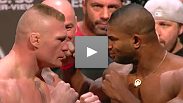 Watch the official weigh-in for UFC 141: Lesnar vs. Overeem.