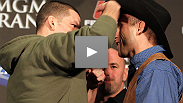 Watch the UFC 141 pre-fight press conference with Dana White, Brock Lesnar, Alistair Overeem, Nate Diaz and Donald Cerrone.
