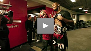 Take a look back at never-seen before footage from UFC 140: Jones vs Machida.