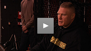 Brock Lesnar speaks openly to media about the risks of fighting Alistair Overeem, and why he's prepared for (and excited by) the challenge.