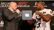 UFC 141 Pre-Fight Press Conference at the MGM Grand on December 28, 2011 in Las Vegas, Nevada. (Photos by Josh Hedges/Zuffa LLC/Zuffa LLC via Getty Images)