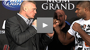 Heavyweight headliners Brock Lesnar and Alistair Overeem on competition, critics and confidence. PLUS: the shocking truth about pro wrestling.