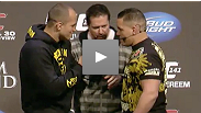 Heavyweight champion Junior dos Santos takes on fellow striker Pat Barry in an intense game of UFC Undisputed 3.