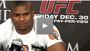 Heavyweight headliner Alistair Overeem talks about what it was like to be in the UFC Octagon and why the fight went exactly the way he expected.