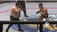 Though 13 years younger and 118 pounds lighter than his opponent, Vitor Belfort put in a strong showing in the UFC 12 heavyweight tourney.