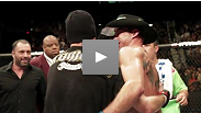 Take a look back at the best behind-the-scenes moments of UFC 141.