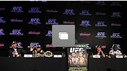 RIO DE JANEIRO, BRAZIL - The UFC 142 pre-fight press conference at the Copacabana Palace Hotel on January 12, 2012 in Rio de Janeiro, Brazil.  (Photo by Josh Hedges/Zuffa LLC/Zuffa LLC via Getty Images)