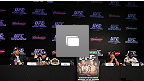 UFC® RIO Press Conference Photo Gallery