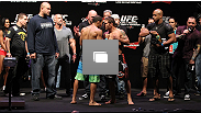 RIO DE JANEIRO, BRAZIL - JANUARY 13: UFC 142 Weigh In at HSBC Arena on January 13, 2012 in Rio de Janeiro, Brazil.  (Photo by Josh Hedges/Zuffa LLC/Zuffa LLC via Getty Images)