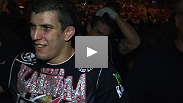 """This win is for Brazil."" Felipe Arantes gets UFC RIO off to a good start, winning an exciting fight with newcomer Antonio Carvalho. Hear why Arantes went into the fight without a strategy."
