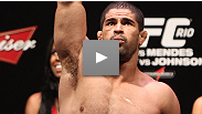 Rousimar Palhares talks about his first-round submission of Mike Massenzio, and shares a special message with the fans.