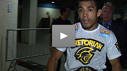 UFC Featherweight champ Jose Aldo discusses his emphatic win over previously-undefeated Chad Mendes, and explains why he wanted to celebrate with the fans in Rio.