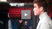 UFC lightweight Sam Stout enters the Octagon for his pre-fight ritual for the first time since the August death of his long-time trainer, Shawn Tompkins.