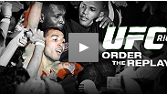 Relive every exciting exchange, slick submission, and vicious KO from UFC RIO: Aldo vs. Mendes!