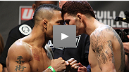 Watch all the pre-fight antics from the UFC on FX: Guillard vs. Miller Weigh-in