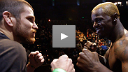 The energy's up, the weight is made, and now see lightweight headliners Melvin Guillard and Jim Miller come face-to-face at the UFC on FX weigh-in.