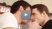 Middleweight contenders Chael Sonnen and Michael Bisping give you exclusive access to what went on behind the scenes at the UFC® on FOX pre-fight press conference.
