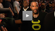 A disappointed - but victorious - Rashad Evans talks about his win over Phil Davis,