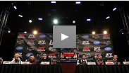 Watch the UFC 143 pre-fight press conference archive.