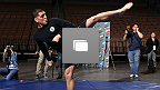 UFC® 143 Diaz vs Condit Open Workouts Gallery