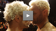 Rabble-rouser Josh Koscheck meets his match in fellow wrestler Mike Pierce, who came to the UFC 143 with a prop...