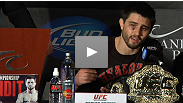 UFC interim welterweight champion Carlos Condit discusses his big win over Nick Diaz at the UFC 143 post-fight press conference.