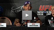 Josh Koscheck and Fabricio Werdum discuss their victories at the UFC 143 post-fight press conference.