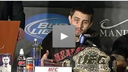 The stars of UFC 143 and Dana White discuss the amazing night of fight with members of the press.