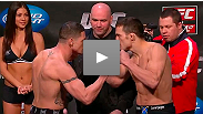 Watch the UFC on FUEL TV: Sanchez vs. Ellenberger weigh-in from Omaha, Nebraska.