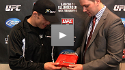 Keys to the city, homemade scarves, and Sasquatch sightings - the best sounds from the UFC® on FUEL TV open workout.