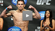 "Jake Ellenberger overcame a late rally from Diego Sanchez - a his own nerves - to earn an exciting unanimous decision. hear what ""The Juggernaut"" had to say about his FOTN performance, and the feeling of headlining an event in front of a hometown crowd."