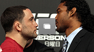 UFC 144 pre-fight press conference at the Ritz-Carlton Hotel on February 23, 2012 in Tokyo, Japan.  (Photos by Josh Hedges/Zuffa LLC/Zuffa LLC via Getty Images)