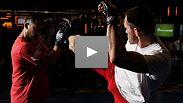 See the best moments from the UFC on FX open workouts featuring Thiago Alves, Martin Kampmann, the UFC's first flyweights and some Aussies fighting at home.