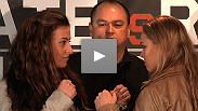 Miesha Tate and Ronda Rousey continue their verbal sparring (while Josh Thomson tries to lighten the mood), plus Paul Daley, KJ Noons, and Kazuo Misaki talk about their upcoming bouts at the STRIKEFORCE: Tate vs. Rousey pre-fight presser.
