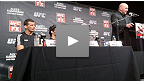 Conf&eacute;rence de presse de l&#39;UFC on FX : Alves vs Kampmann