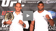 Highlights from the UFC 146 event announcement with Dana White plus heavyweights Junior dos Santos, Alistair Overeem, Cain Velasquez, Frank Mir, Roy Nelson and Antonio Silva.